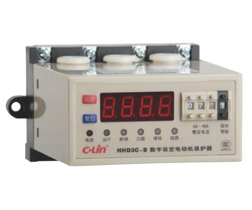 智能型数字设定数显电动机保护器