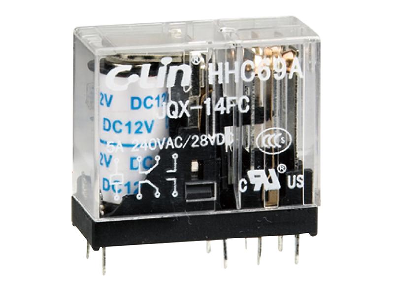 HHC69小型电磁继电器