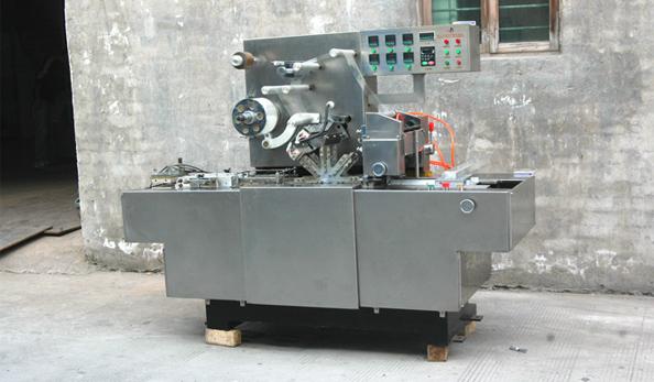 欣灵电气三维透明膜包装机应用案例