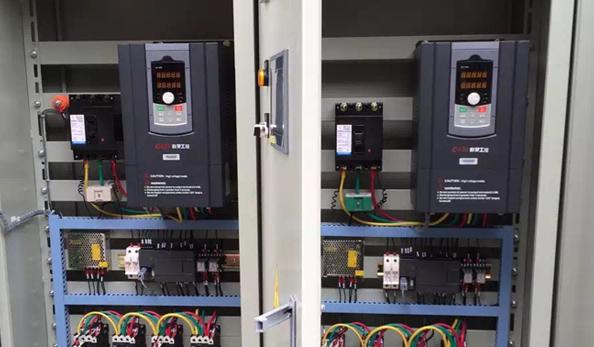 欣灵电气变频消防巡检柜应用案例