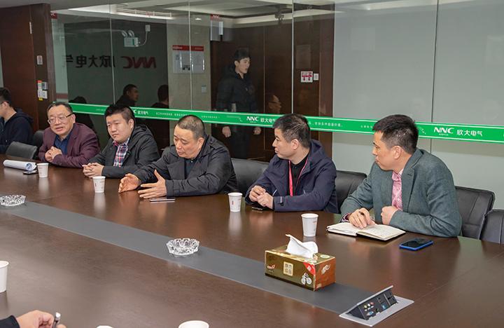 董事长胡志兴发表讲话