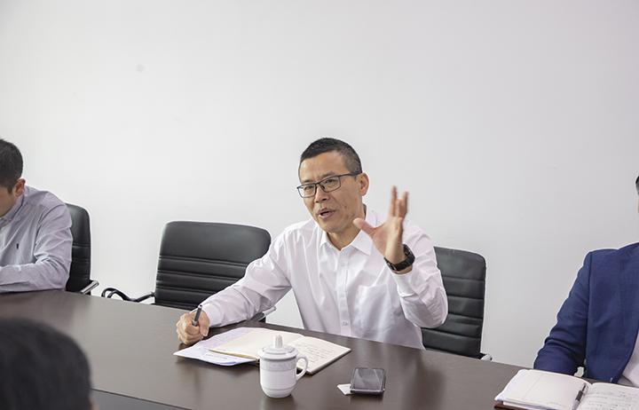 徐海严副市长在座谈会作重要指示
