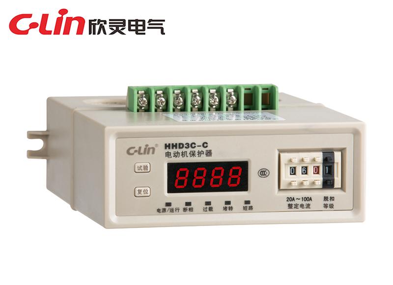 HHD3C-C、D、E数显智能电动机保护器