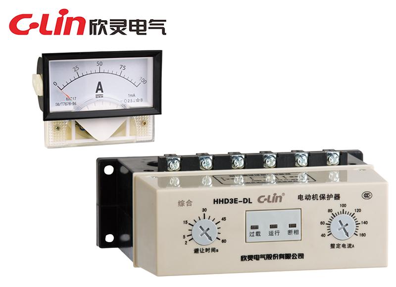 HHD3E-DL 带电流表驱动电动机保护器