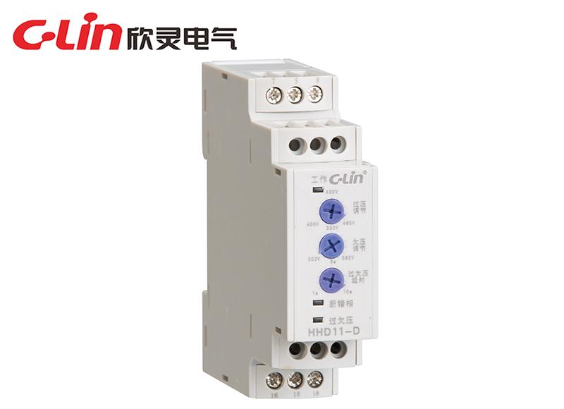 HHD11-D过欠压断相相序保护继电器