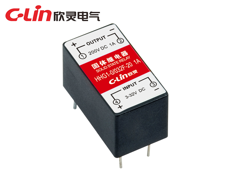 HHG1-0/032F-20 (SSR-DD)小型双列电路板式固体继电器(直流控制直流)