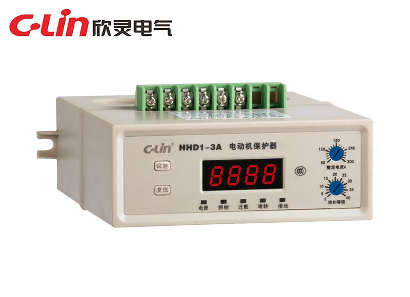 HHD1-2、3、3A数显智能电动机保护器