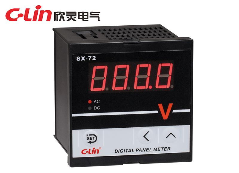 SX-72系列数显电流、电压表