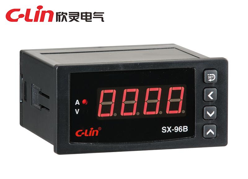 SX-96B系列数显电流、电压表