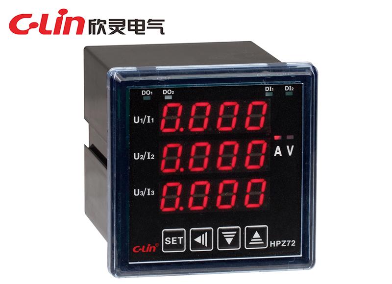 HPZ72系列可编程三相电力仪表