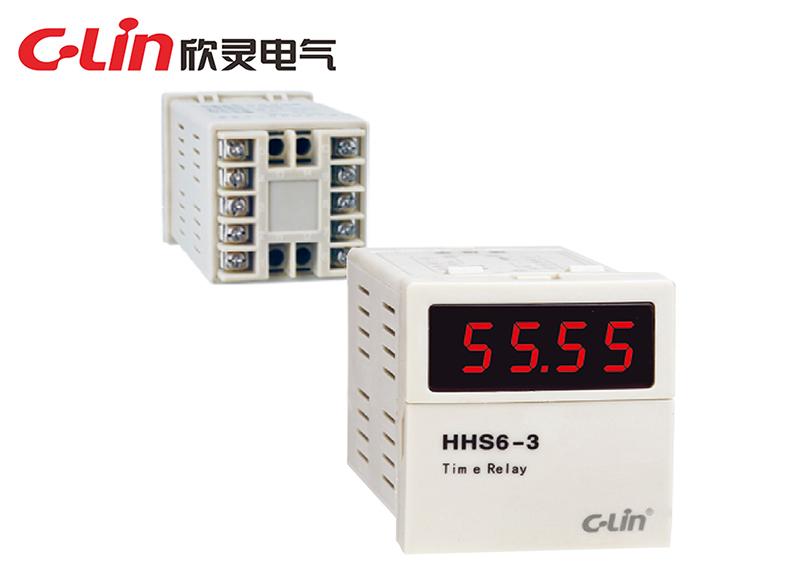 HHS6-3时间继电器
