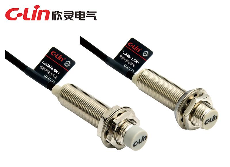 LJM8短圆柱型电感式接近开关
