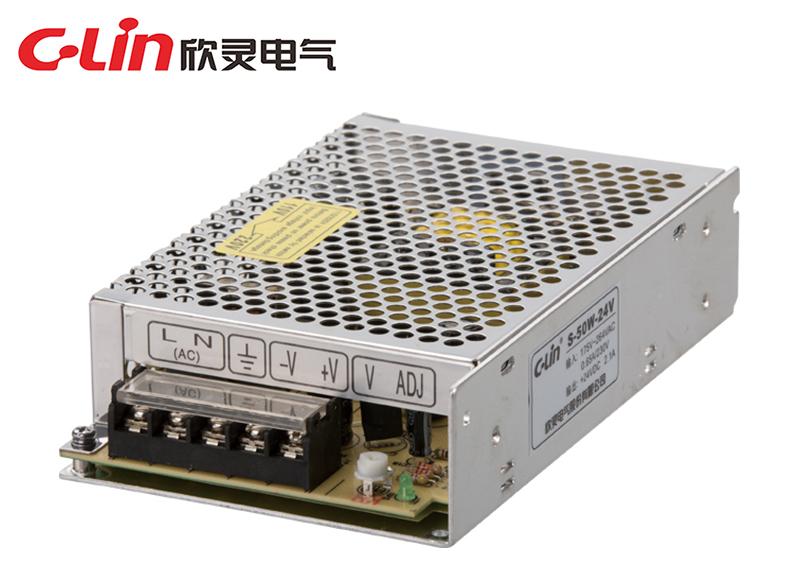 S-50W/60W/75W单组输出通用型开关电源