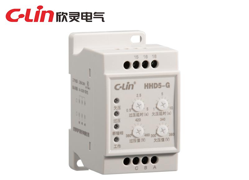 HHD5-G 断相与相序过欠压保护继电器(改进型)