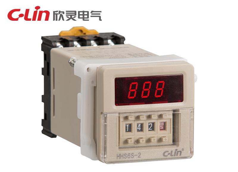 HHS6S-2时间继电器