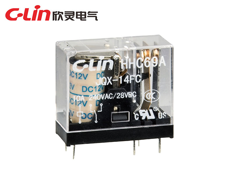HHC69A-1Z(JQX-14FC-1Z)小型电磁继电器