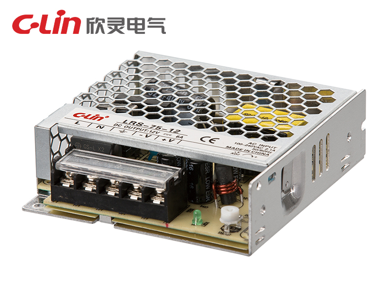 LRS-75W单组输出超薄开关电源
