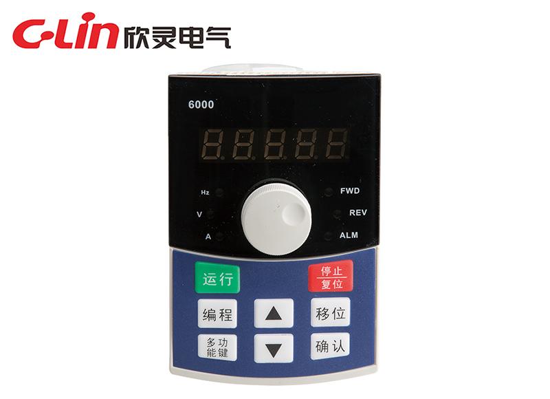 P6000-A单显编码器调节 、P6000-F 单显电位器调节 成品操作面板