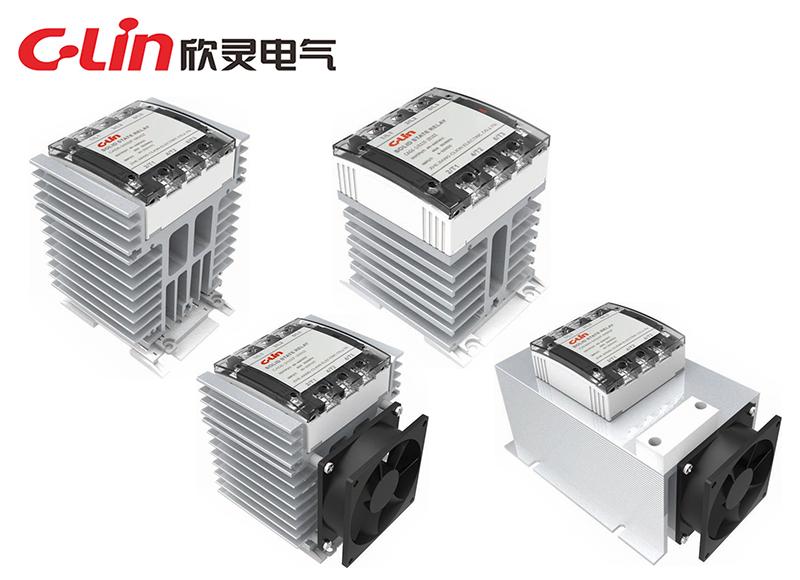 CAG6-3系列散热一体化固体继电器