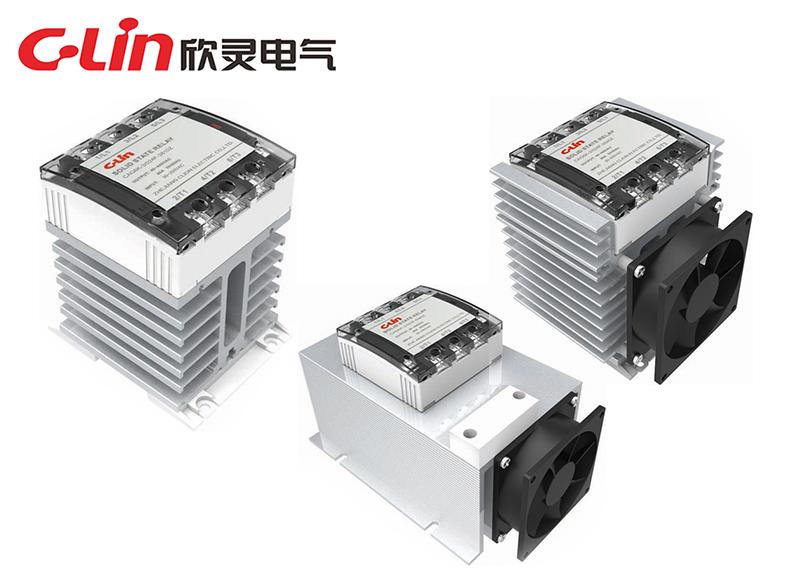 CAG6K-3系列散热一体化固体继电器