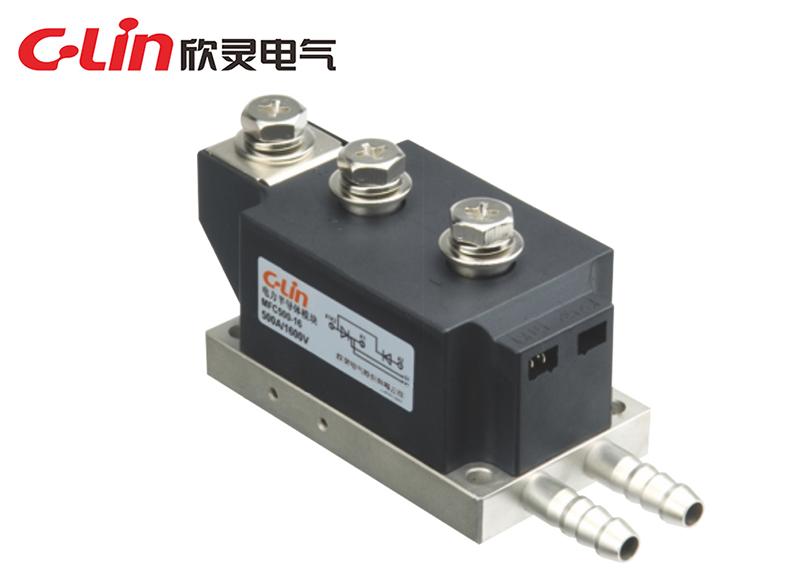 MFC、MFA、MFK、MFX(水冷)普通晶闸管、整流管混合模块