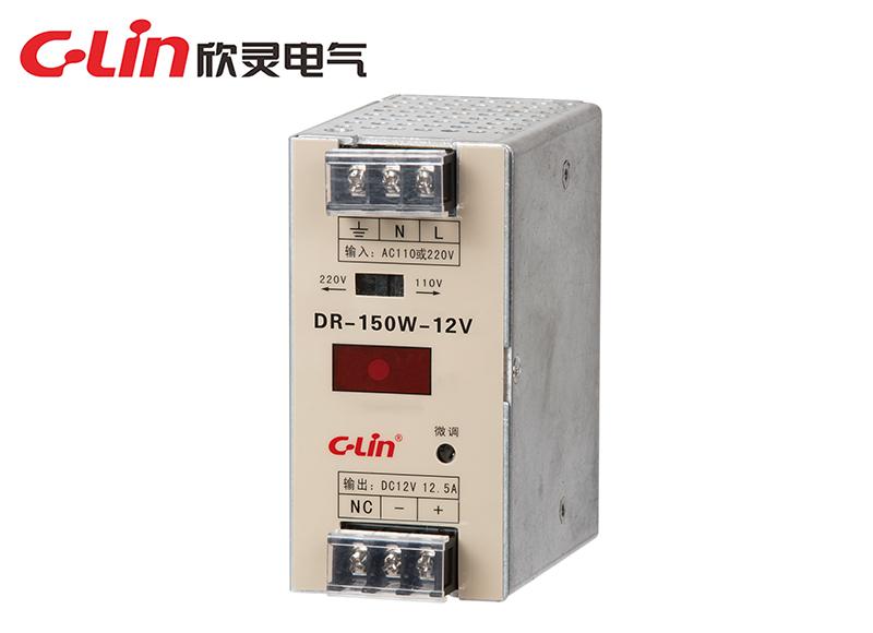 DR-100W/120W/150W导轨式开关电源