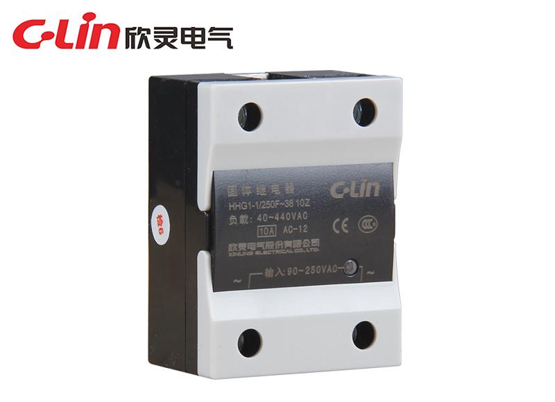 HHG1-1/250F-38 (SSR-AA)(改进型)单相固体继电器(交流控制交流)