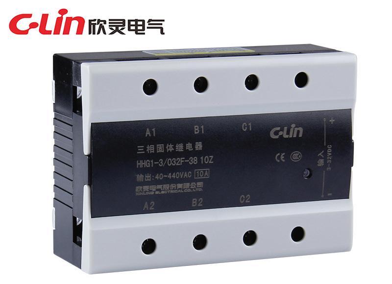 HHG1-3/032F-38 (SSR-DA)(改进型)三相固体继电器(直流控制交流)