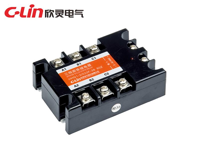 HHG1-3/032F-38(SSR-DA)三相固体继电器(直流控制交流)