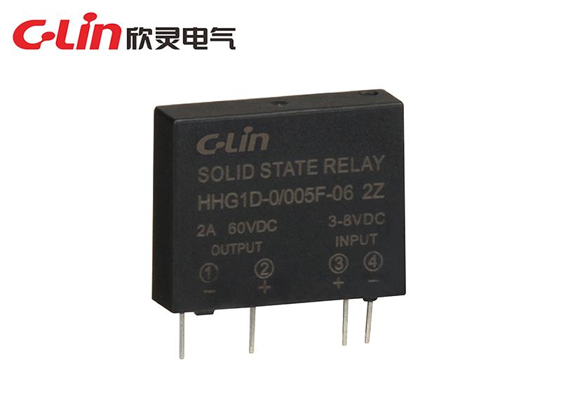 HHG1D-1/005F-22、38 1A/2A小型单列电路板式固体继电器