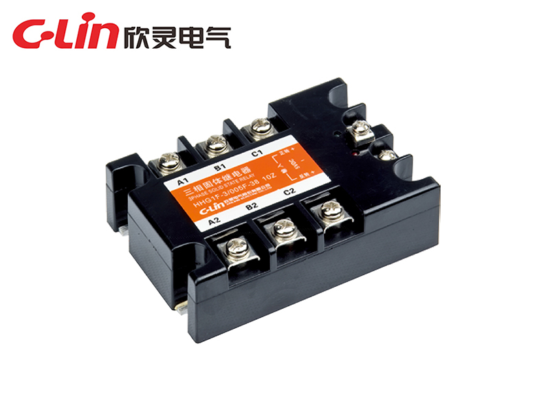 HHG1F-3/024F-38三相正反转固体继电器(直流控制交流)