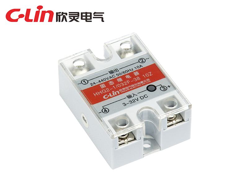 HHG2-1/032F-22、38(SSR-DA)单相固体继电器(直流控制交流)
