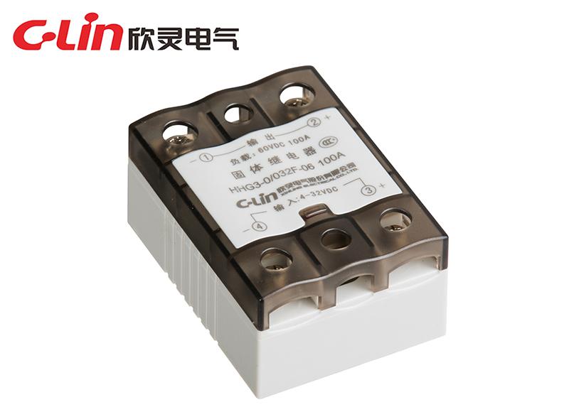HHG3-0/032F-06 100A (SSR-DD)单相固体继电器(直流控制直流)