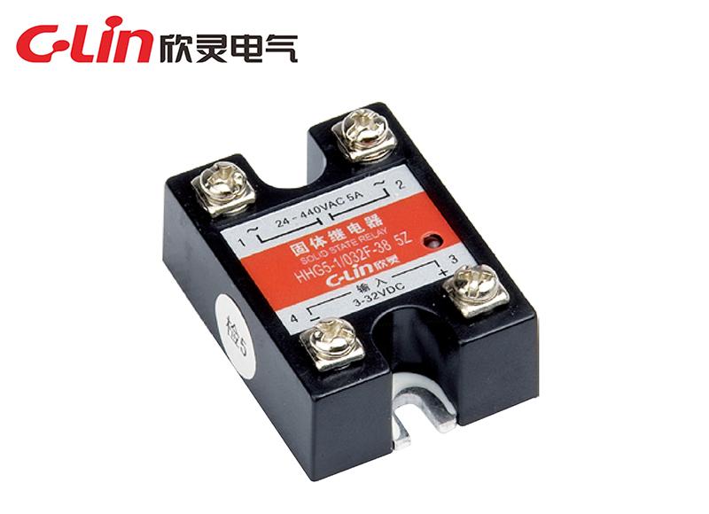 HHG5-1/032F-38 (SSR-DA)单相固体继电器 (直流控制交流) (小体积)