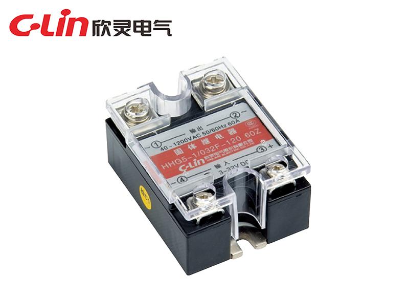 HHG5-1/032F-120(SSR-DA)单相晶闸管反并联固体继电器(直流控制交流)