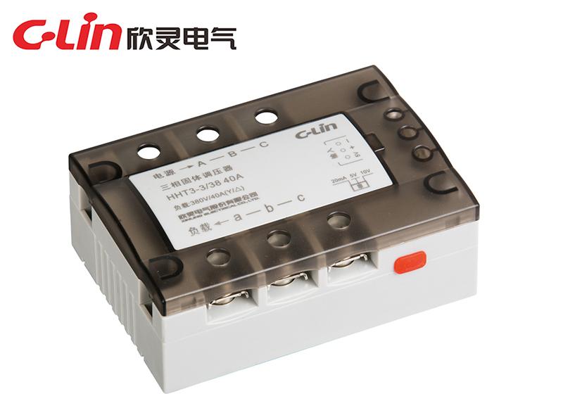 HHT3-3/38(25-125A)三相三线调压 智能固体调压器