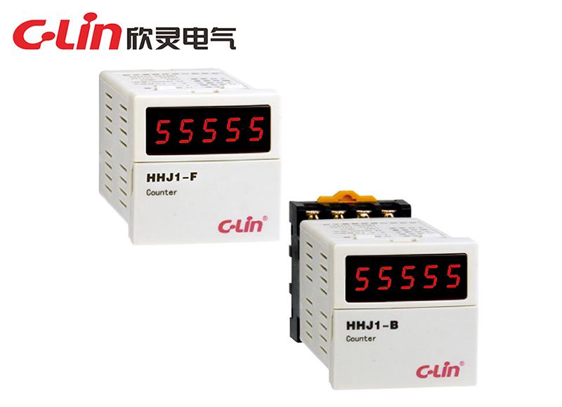 HHJ1-B(新型)、HHJ1-F(板后接线)计数继电器