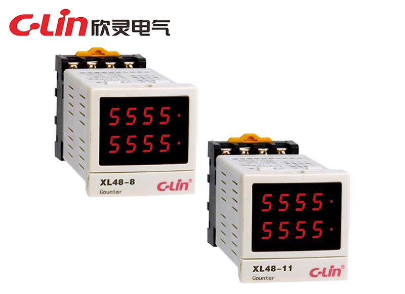 XL48-8、XL48-11多功能时间继电器