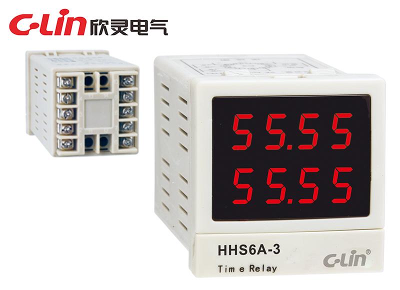 HHS6A-3时间继电器
