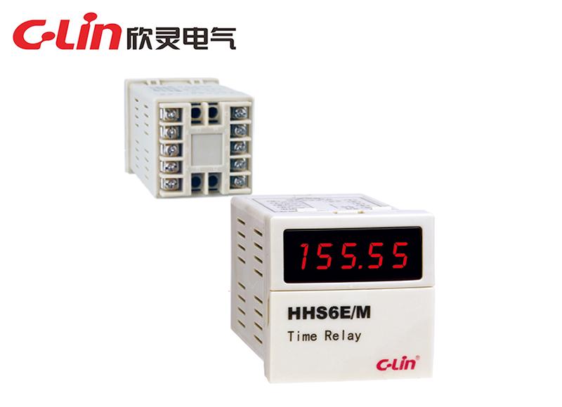 HHS6E/M多回路时间继电器