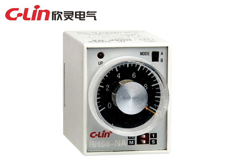 HHS8-N □ (AH3-N □ )时间继电器