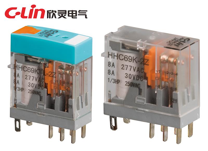 HHC69KTL-2Z、HHC69K-2Z小型电磁继电器