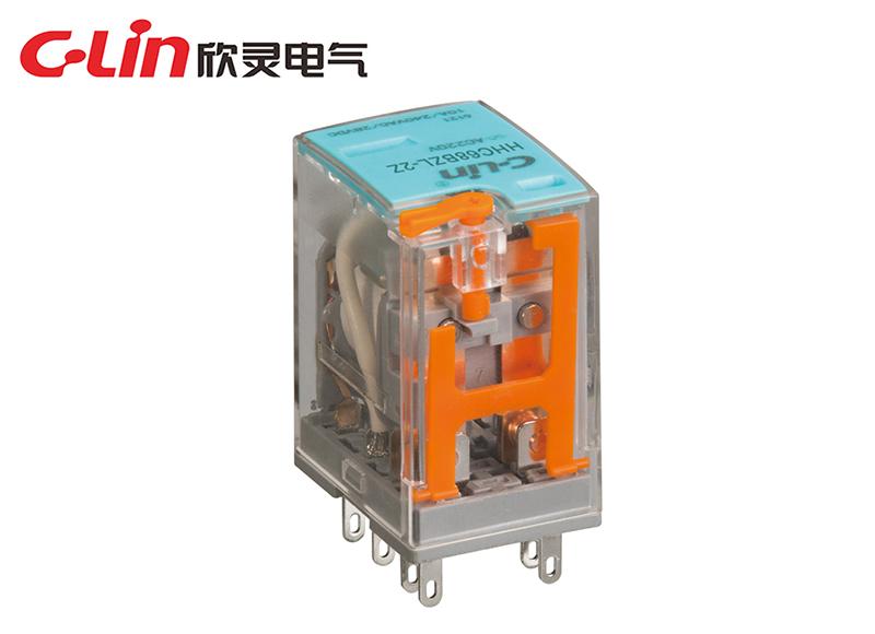 HHC68BZL-2Z 10A (HH52P,MY2)小型电磁继电器