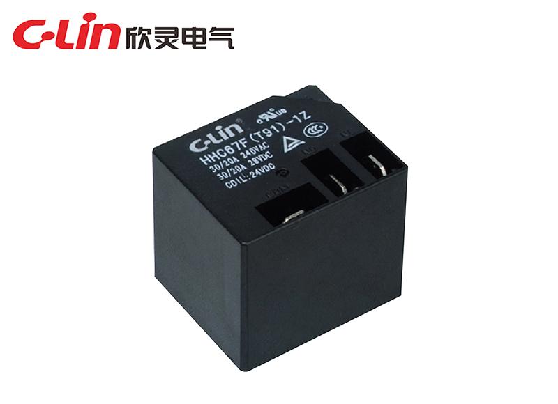 HHC67F(T91)小型电磁继电器