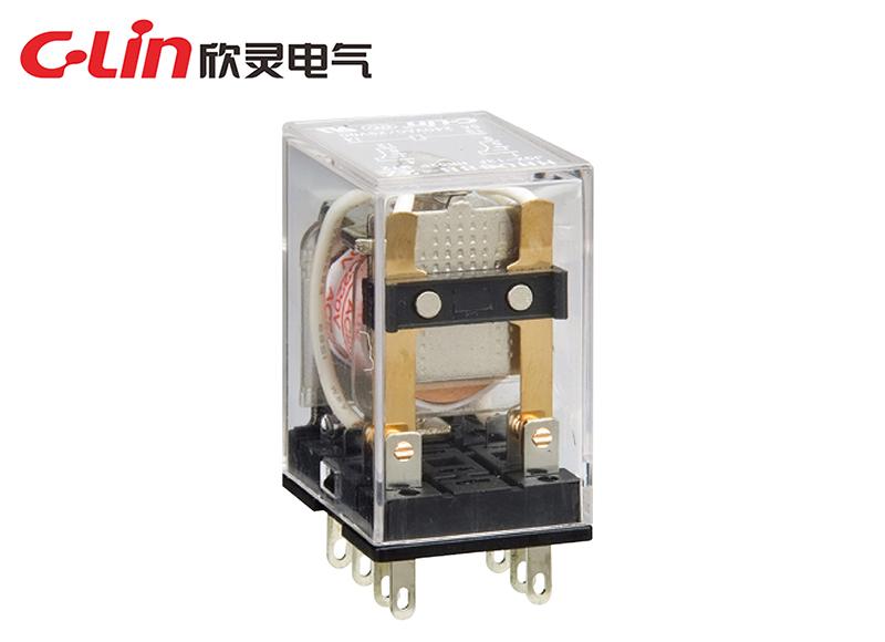 HHC68B-2Z (HH52P,MY2)小型电磁继电器
