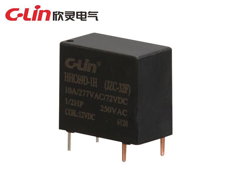 HHC69D-1H (JZC-32F)小型电磁继电器