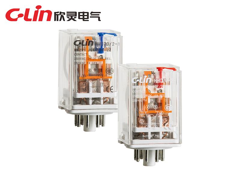 HHC70/2 (MK 2P)大功率电磁继电器