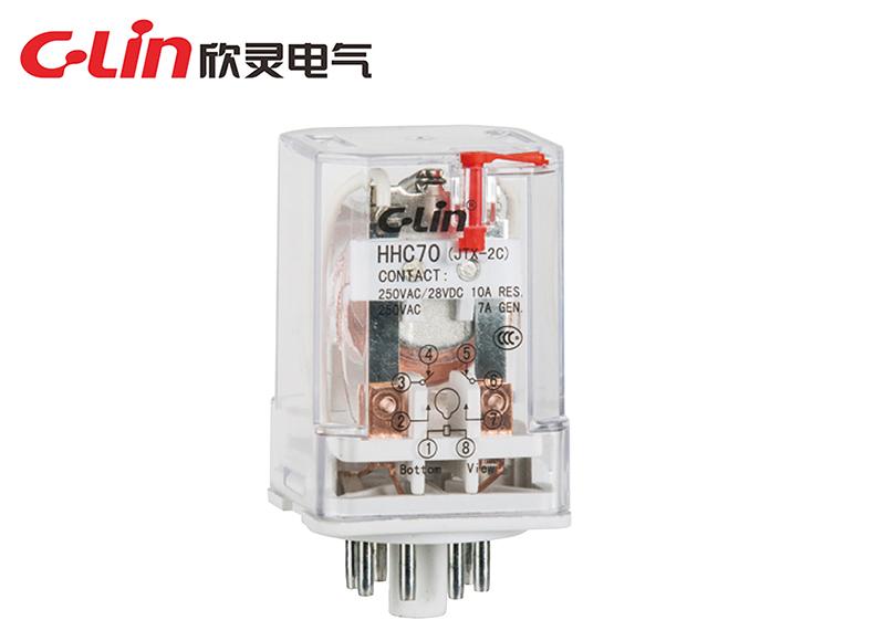 HHC70A(2Z) (JQX-10F;JTX)电磁继电器