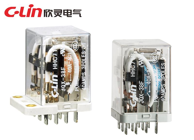 HHC71B (JQX-38F)大功率电磁继电器