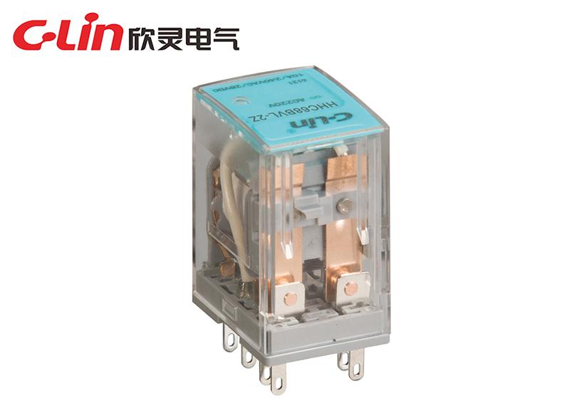 HHC68BL-2Z  10A(HH52P,MY2)小型电磁继电器